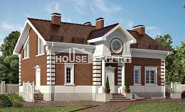 160-009-R Two Story House Plans, classic Home House