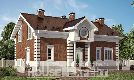 160-009-R Two Story House Plans, a simple Online Floor,