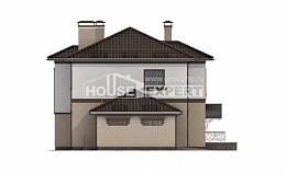 290-004-L Two Story House Plans with garage under, beautiful Woodhouses Plans,