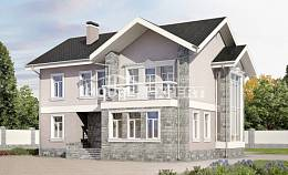 170-008-R Two Story House Plans, compact Blueprints of House Plans,