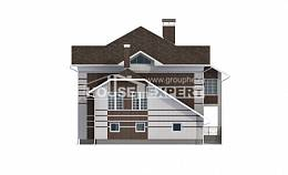 505-002-L Three Story House Plans with garage, classic Plans To Build,