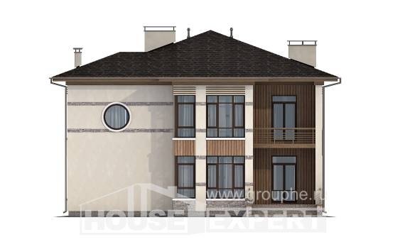 345-001-R Two Story House Plans, classic Plans Free
