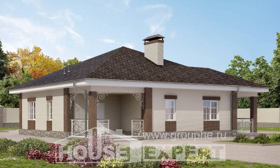 100-004-L One Story House Plans, beautiful Blueprints of House Plans