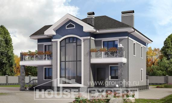 200-006-L Two Story House Plans, cozy Models Plans,
