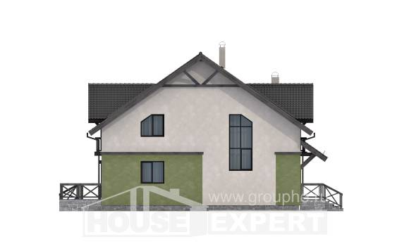 120-003-R Two Story House Plans, the budget Architects House,
