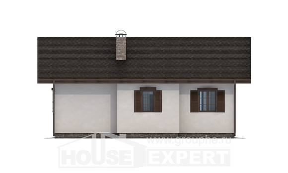 090-002-R One Story House Plans, small Plan Online,