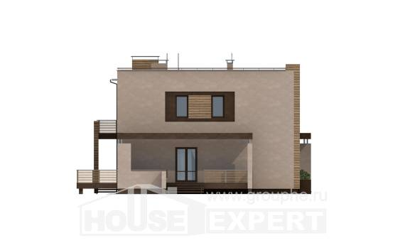 220-003-L Two Story House Plans and garage, spacious House Plans