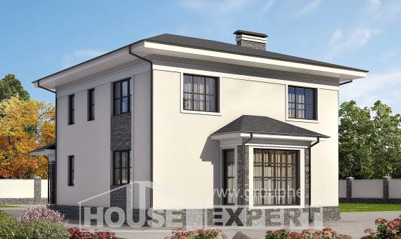 155-011-R Two Story House Plans, the budget Home House, House Expert