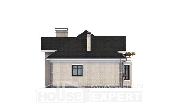 150-013-R Two Story House Plans with mansard roof, beautiful Design Blueprints,