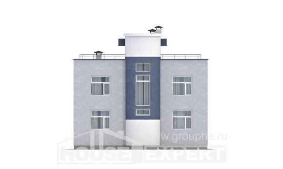 180-005-R Two Story House Plans, a simple Drawing House,