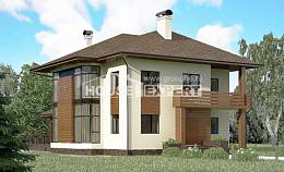 300-001-R Two Story House Plans, classic Home House,