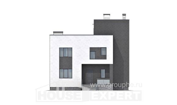 225-001-R Two Story House Plans, spacious House Planes,