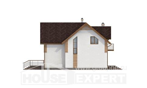 150-009-R  Two Story House Plans, a simple Woodhouses Plans,