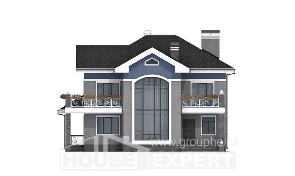 200-006-L Two Story House Plans, cozy Home Plans,