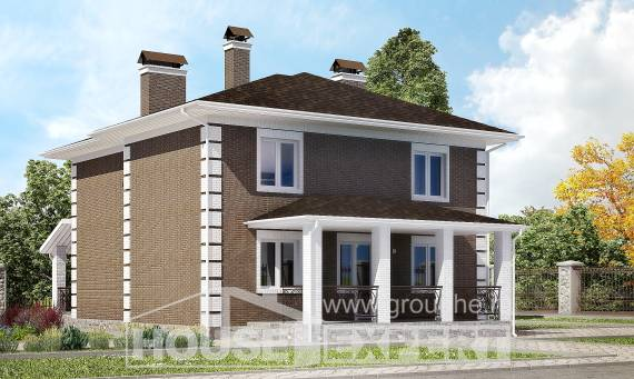 185-002-R Two Story House Plans, best house House Planes,