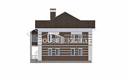 505-002-L Three Story House Plans with garage, spacious Construction Plans,