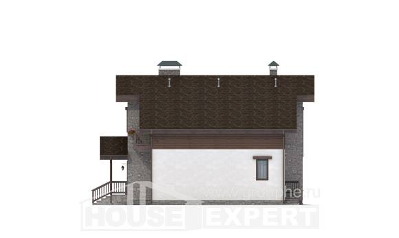 150-004-L Two Story House Plans with mansard roof, classic House Plans,