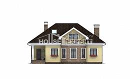 150-008-L Two Story House Plans and mansard, the budget Ranch,