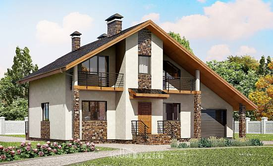 180-008-R Two Story House Plans and mansard with garage in back, best house Home House, House Expert