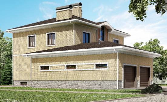 350-002-L Three Story House Plans with garage, a huge Ranch, House Expert