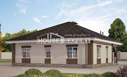 100-004-L One Story House Plans, the budget Architect Plans