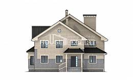300-004-R Two Story House Plans, beautiful Dream Plan,