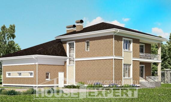 335-002-R Two Story House Plans with garage in back, modern Dream Plan,