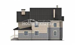 300-004-R Two Story House Plans, luxury Architects House,