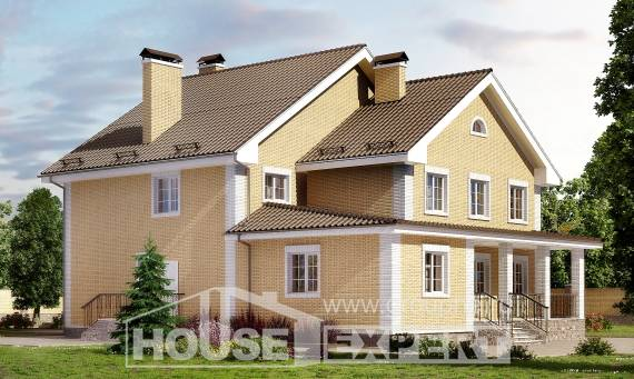 320-003-L Two Story House Plans, cozy Dream Plan,