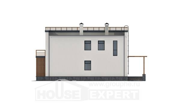 215-002-L Two Story House Plans, beautiful Drawing House,