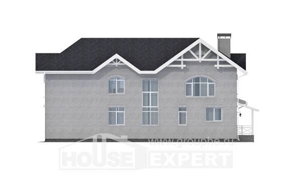 340-004-R Two Story House Plans, cozy House Building,
