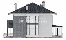 250-004-L Two Story House Plans, spacious Tiny House Plans, House Expert