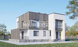 150-017-R Two Story House Plans, modern Blueprints, House Expert