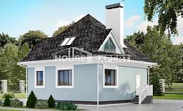 110-001-L Two Story House Plans and mansard, available Timber Frame Houses Plans,