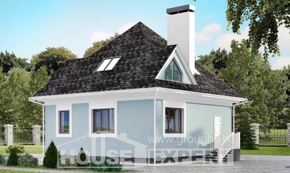 110-001-L Two Story House Plans and mansard, the budget Design Blueprints,