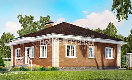 100-001-L One Story House Plans, available House Blueprints, House Expert