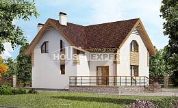 150-009-R  Two Story House Plans, a simple Planning And Design,