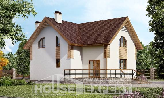 150-009-R  Two Story House Plans, beautiful Architect Plans