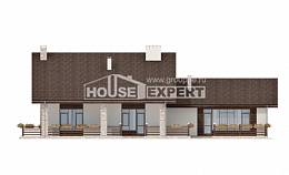 480-001-L Two Story House Plans with mansard roof, big Architects House,