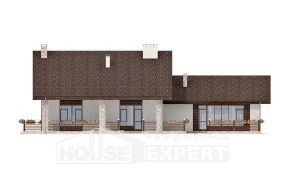 480-001-L Two Story House Plans with mansard, modern Custom Home Plans Online, House Expert