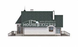 170-003-L Two Story House Plans and mansard, the budget House Plans, House Expert