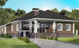 490-001-R Three Story House Plans with mansard roof with garage in front, spacious Design Blueprints,