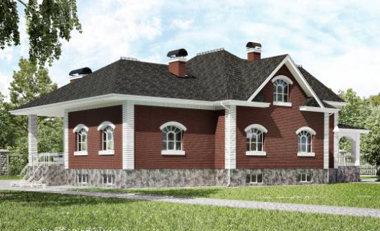 600-001-R Three Story House Plans with mansard with garage under, beautiful House Plans, House Expert