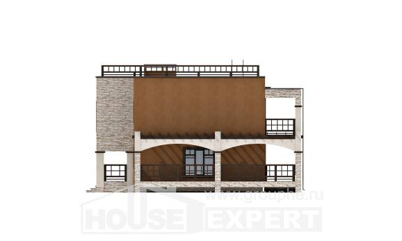 150-010-L Two Story House Plans, cozy House Online,