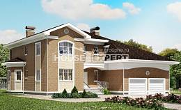 335-002-R Two Story House Plans with garage in front, modern Architect Plans,