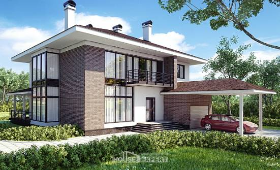 340-001-R Two Story House Plans with garage in back, beautiful House Building, House Expert