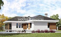 165-001-R One Story House Plans and garage, inexpensive Planning And Design