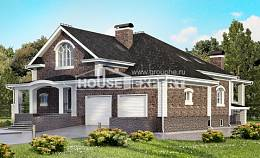 490-001-R Three Story House Plans and mansard with garage, beautiful Models Plans,