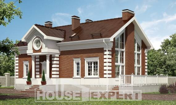 160-009-R Two Story House Plans, modest Architect Plans