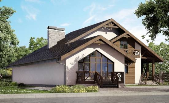 265-001-R Two Story House Plans and mansard and garage, best house Online Floor, House Expert